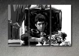 Scarface - Tony Montana 3 dílny POP ART obraz
