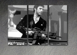 "Scarface - AL PACINO ""THE END"" 3 dílny POP ART obraz"