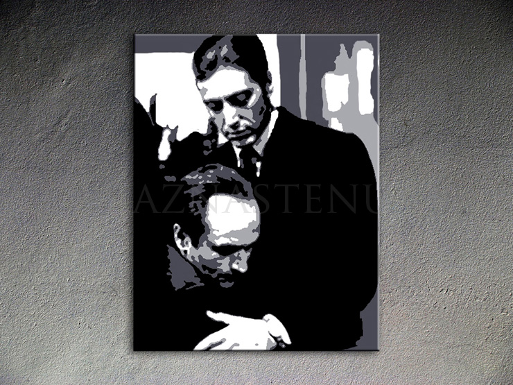 The Godfather AL PACINO  POP ART obraz