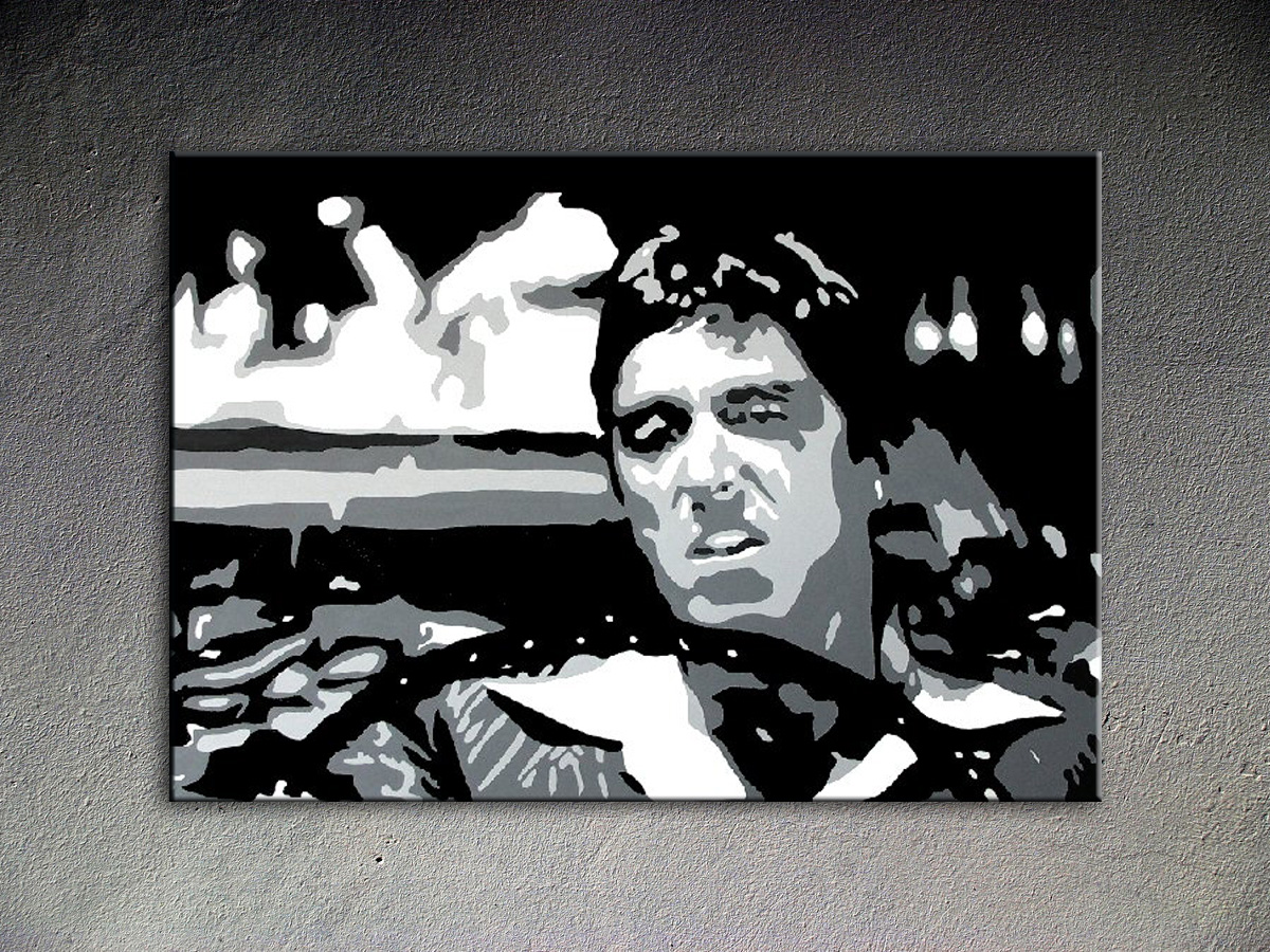 AL PACINO POP ART obraz