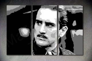 The Godfather - Robert De Niro 3 dílny POP ART obraz