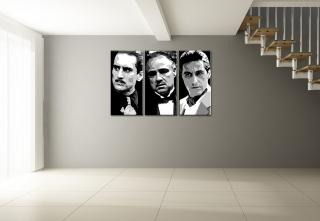 Godfather 3 dílny POP ART obraz