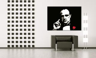 The Godfather 1 dílný  POP ART obraz