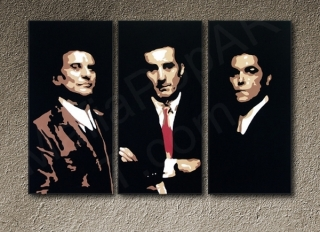 GoodFellas - Robert De Niro 3 dílny POP ART obraz